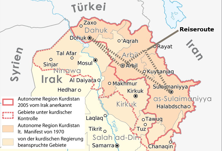 A journey through Iraqi Kurdistan