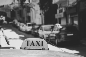 Taxi drivers in Beirut