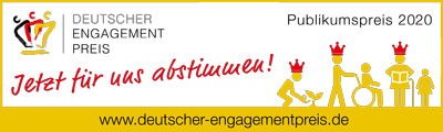 Nomination for German Volunteering Award 2020